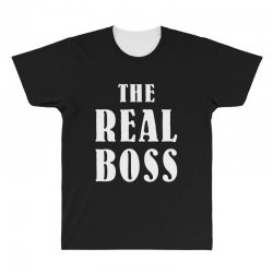 The Boss - The Real Boss Family Matching All Over Men's T-shirt | Artistshot