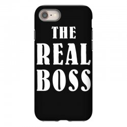 The Boss - The Real Boss Family Matching iPhone 8 Case | Artistshot