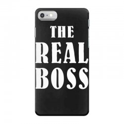 The Boss - The Real Boss Family Matching iPhone 7 Case | Artistshot