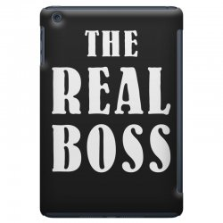 The Boss - The Real Boss Family Matching iPad Mini Case | Artistshot