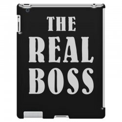 The Boss - The Real Boss Family Matching iPad 3 and 4 Case | Artistshot