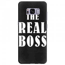 The Boss - The Real Boss Family Matching Samsung Galaxy S8 Plus Case | Artistshot