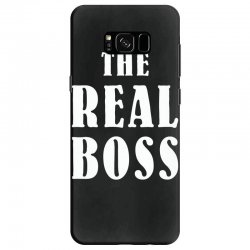 The Boss - The Real Boss Family Matching Samsung Galaxy S8 Case | Artistshot