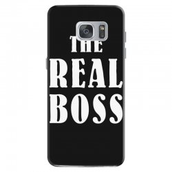 The Boss - The Real Boss Family Matching Samsung Galaxy S7 Case | Artistshot