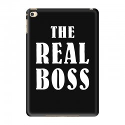 The Boss - The Real Boss Family Matching iPad Mini 4 Case | Artistshot
