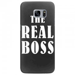 The Boss - The Real Boss Family Matching Samsung Galaxy S7 Edge Case | Artistshot