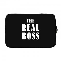 The Boss - The Real Boss Family Matching Laptop sleeve | Artistshot