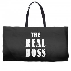 The Boss - The Real Boss Family Matching Weekender Totes | Artistshot