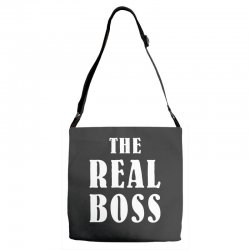 The Boss - The Real Boss Family Matching Adjustable Strap Totes | Artistshot
