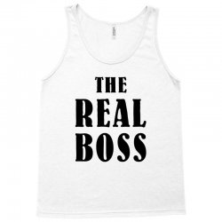 The Boss - The Real Boss Family Matching Tank Top | Artistshot