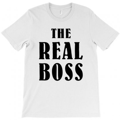 The Boss - The Real Boss Family Matching T-shirt Designed By Bigdlab