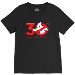 30th anniversary ghostbuster V-Neck Tee | Artistshot