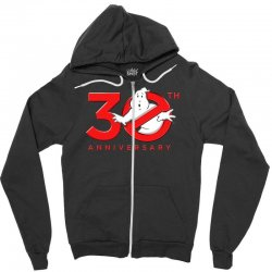 30th anniversary ghostbuster Zipper Hoodie | Artistshot