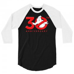 30th anniversary ghostbuster 3/4 Sleeve Shirt | Artistshot