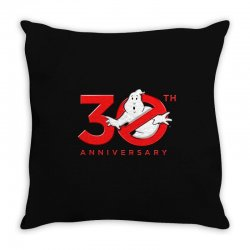 30th anniversary ghostbuster Throw Pillow | Artistshot