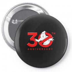 30th anniversary ghostbuster Pin-back button | Artistshot