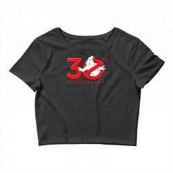 30th anniversary ghostbuster Crop Top | Artistshot