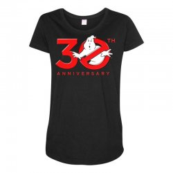 30th anniversary ghostbuster Maternity Scoop Neck T-shirt | Artistshot