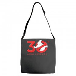 30th anniversary ghostbuster Adjustable Strap Totes | Artistshot