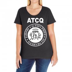 a tribe called quest atcq members ramones Ladies Curvy T-Shirt | Artistshot