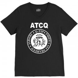 a tribe called quest atcq members ramones V-Neck Tee | Artistshot