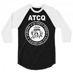 a tribe called quest atcq members ramones 3/4 Sleeve Shirt | Artistshot