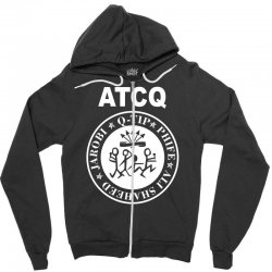 a tribe called quest atcq members ramones Zipper Hoodie | Artistshot