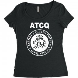 a tribe called quest atcq members ramones Women's Triblend Scoop T-shirt | Artistshot