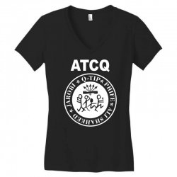 a tribe called quest atcq members ramones Women's V-Neck T-Shirt | Artistshot