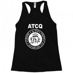 a tribe called quest atcq members ramones Racerback Tank | Artistshot