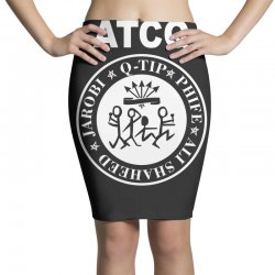 a tribe called quest atcq members ramones Pencil Skirts | Artistshot