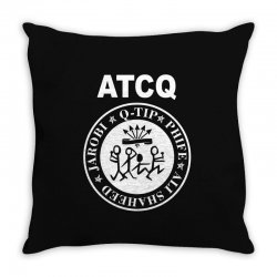 a tribe called quest atcq members ramones Throw Pillow | Artistshot