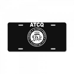 a tribe called quest atcq members ramones License Plate | Artistshot