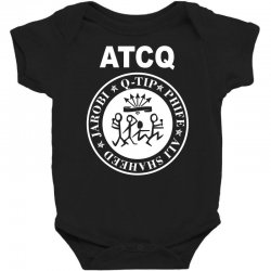 a tribe called quest atcq members ramones Baby Bodysuit | Artistshot