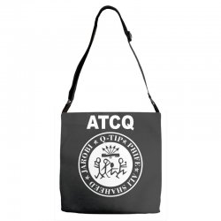 a tribe called quest atcq members ramones Adjustable Strap Totes | Artistshot