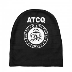 a tribe called quest atcq members ramones Baby Beanies | Artistshot