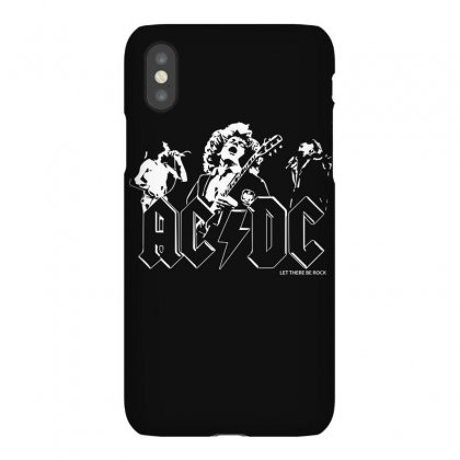 Ac Dc Classic Hard Rock Band Iphonex Case Designed By Mdk Art