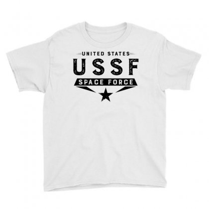 United States Ussf Space Force Youth Tee Designed By Bigdlab