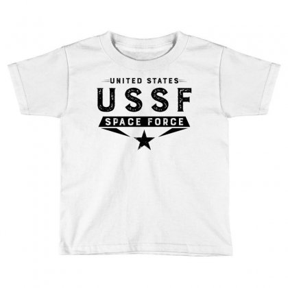 United States Ussf Space Force Toddler T-shirt Designed By Bigdlab