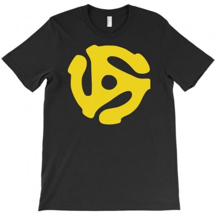 45 Rpm Vinyl Record T Shirt Dj Music Records Mens Ladies Tee Funny T-shirt Designed By Mdk Art