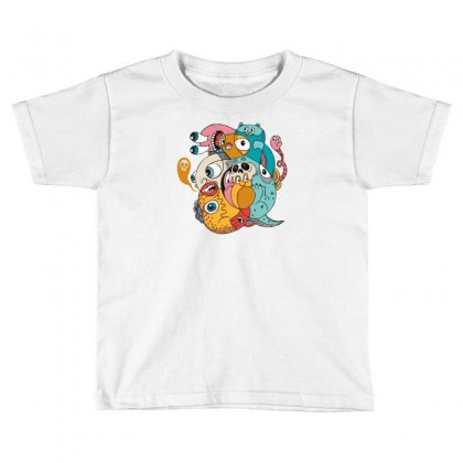 1980 Toddler T-shirt Designed By Mdk Art