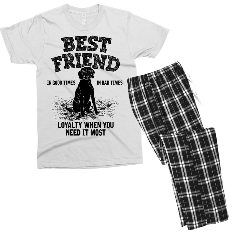 f703181f Custom Best Friend Beagle Men's T-shirt Pajama Set By Bigdlab ...