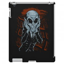 a scream of silence iPad 3 and 4 Case | Artistshot