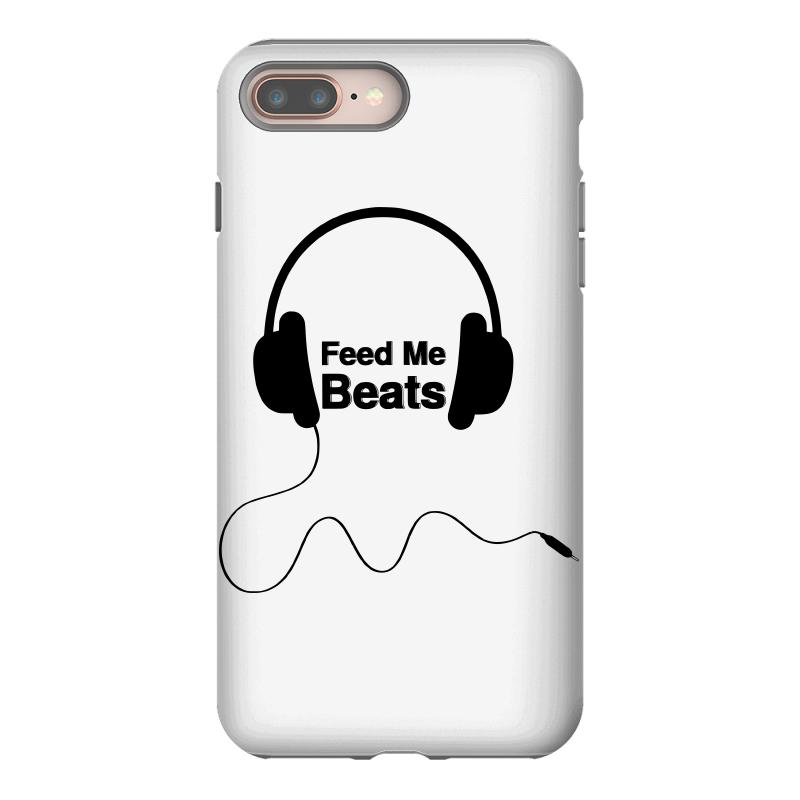 superior quality f0e21 9a0b5 Feed Me Beats Iphone 8 Plus Case. By Artistshot