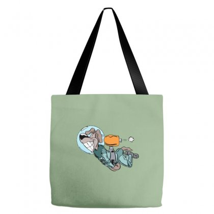 Astronaut Dog Tote Bags Designed By Oz