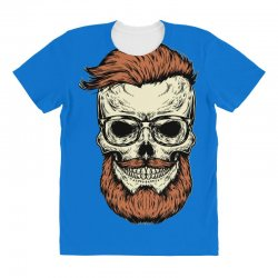 terror skull All Over Women's T-shirt | Artistshot
