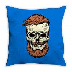 terror skull Throw Pillow | Artistshot