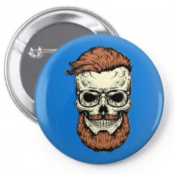 terror skull Pin-back button | Artistshot