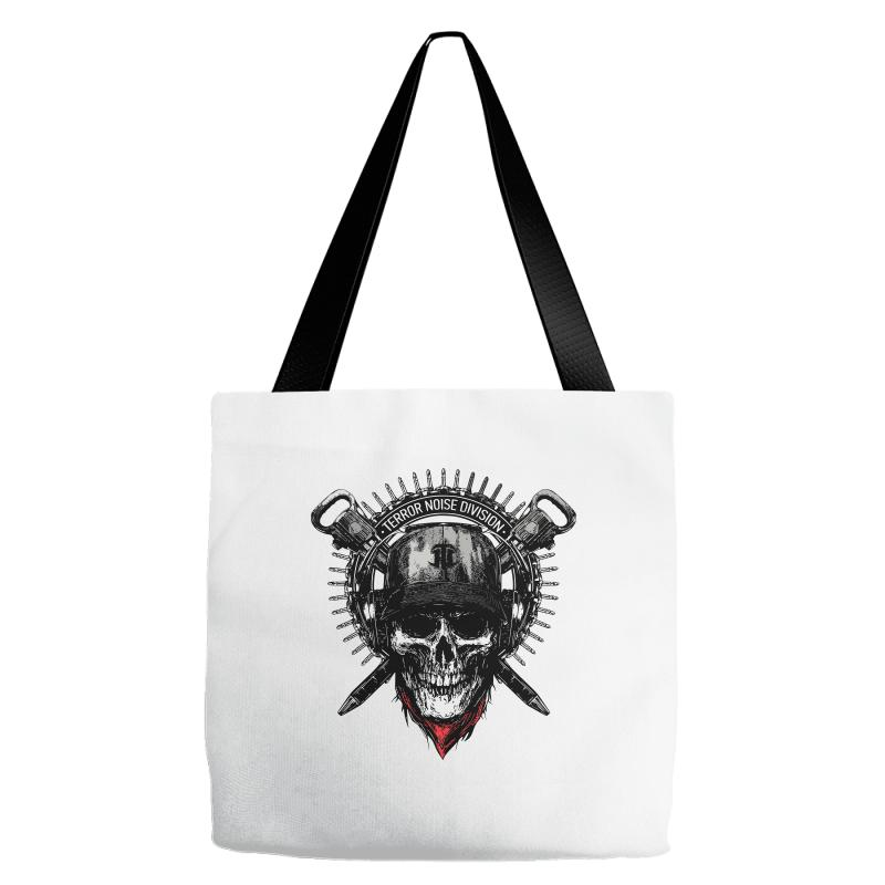 Terror Noise Division Tote Bags | Artistshot