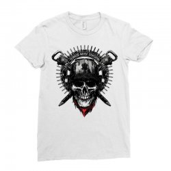 terror noise division Ladies Fitted T-Shirt | Artistshot